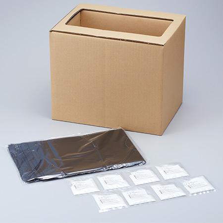 スマイルキッズ商品 組立式緊急トイレ 凝固剤8回分付