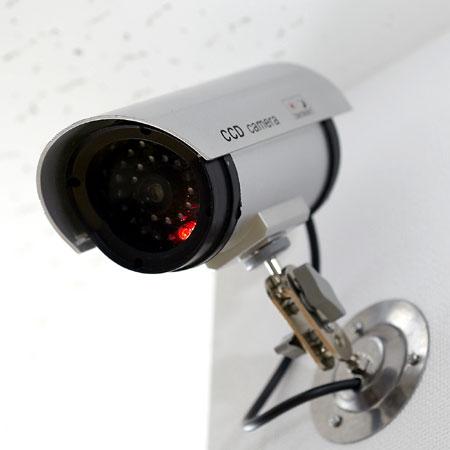 スマイルキッズ商品 防犯LED点滅ダミーカメラ