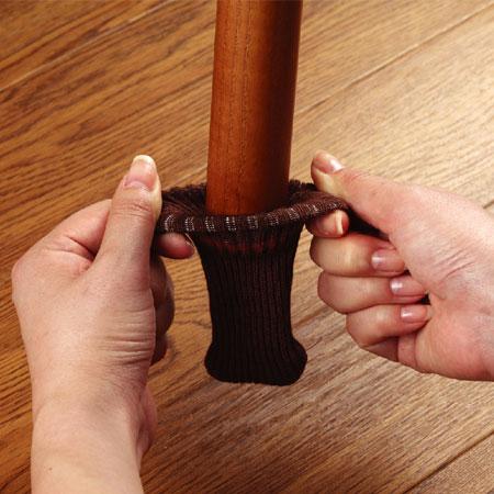 スマイルキッズ商品 キズつきにくいテーブル脚カバー