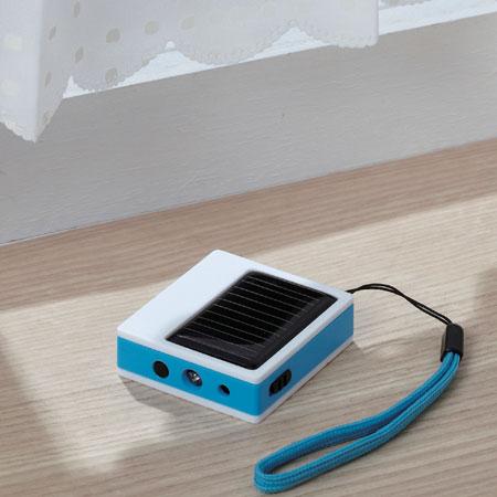 スマイルキッズ商品 スマホ対応ソーラー充電器
