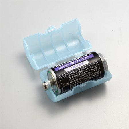 スマイルキッズ商品 単2が単1になる電池アダプター