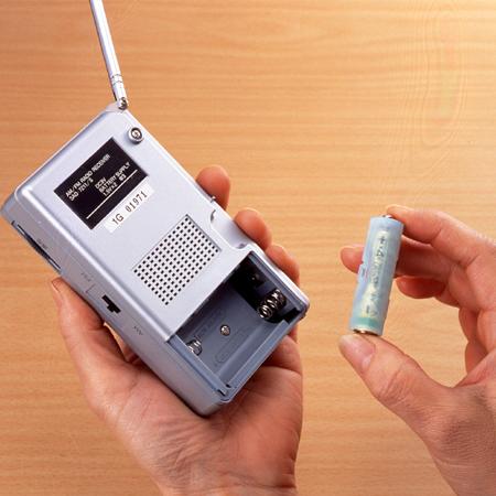 スマイルキッズ商品 単4が単3になる電池アダプター
