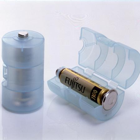 スマイルキッズ商品 単3が単1になる電池アダプター