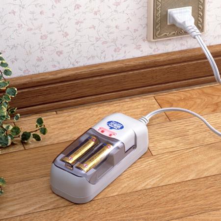 スマイルキッズ商品 アルカリ乾電池充電器