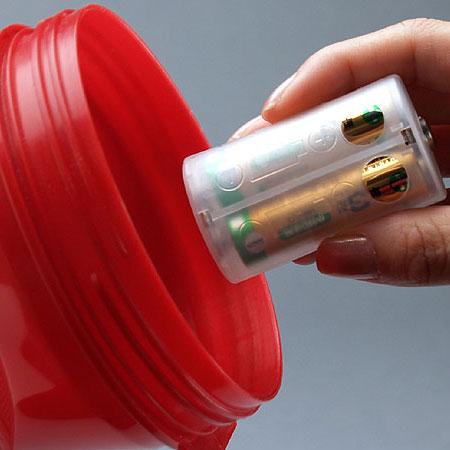 スマイルキッズ商品 単3が3個で単1電池アダプター
