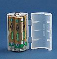 スマイルキッズ/単3が3個で単1電池アダプター