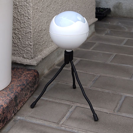 スマイルキッズ商品 防雨LEDセンサーライト